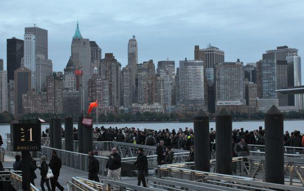Huracán Sandy dejó sin agua y luz a la isla de Manhattan