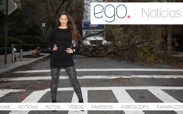 Modelo brasileña criticada por posar en lugares devastados por huracán Sandy