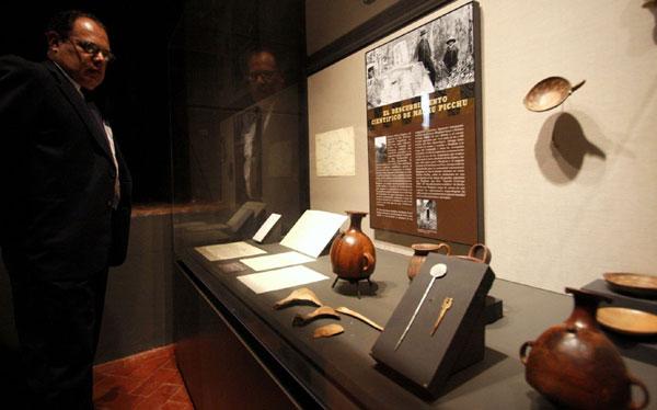 Piezas de Machu Picchu devueltas por Yale fueron vistas por 70.000 personas