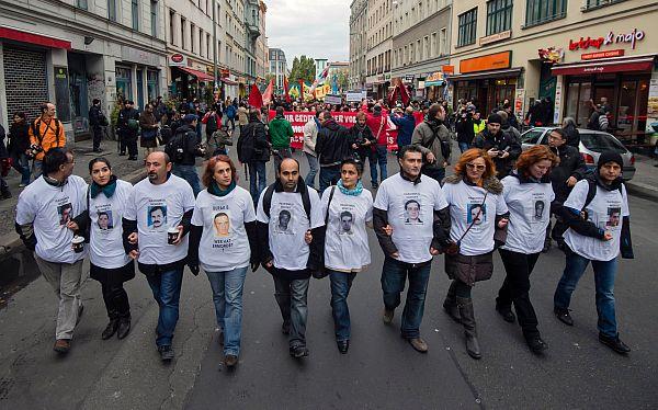 Alemania: miles marcharon en rechazo a los asesinatos racistas de la última década