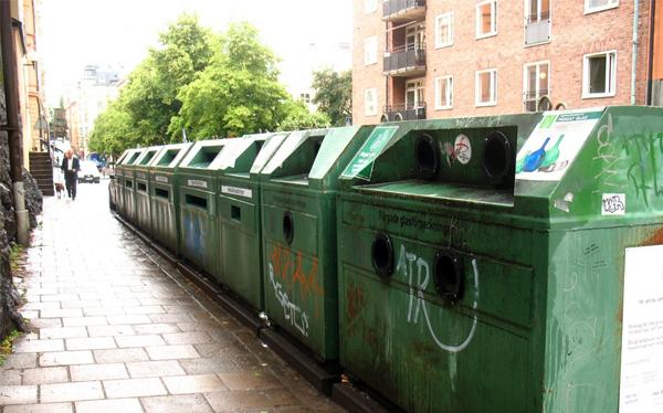Se acabó la basura en Suecia... y ahora tienen que importarla