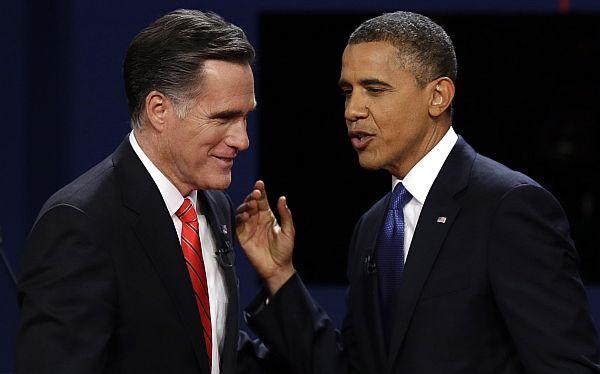 Obama aventaja ligeramente a Romney impulsado por el ciclón Sandy