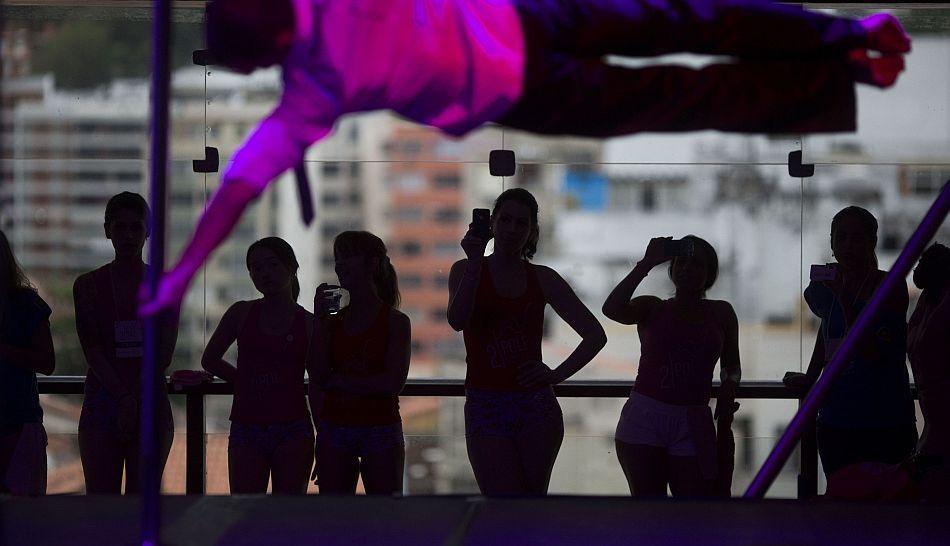 FOTOS: belleza y sensualidad en la Copa Mundial de Pole Dance
