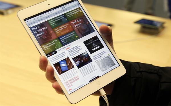 """Apple afirmó que el iPad mini está """"prácticamente agotado"""""""