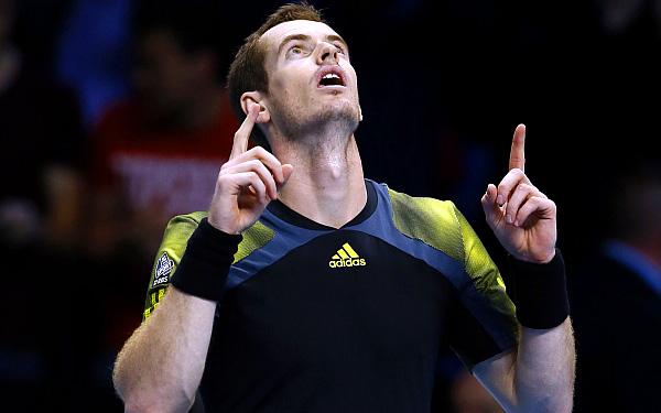 Andy Murray venció a Tomas Berdych en inicio de Masters 1000 de Londres