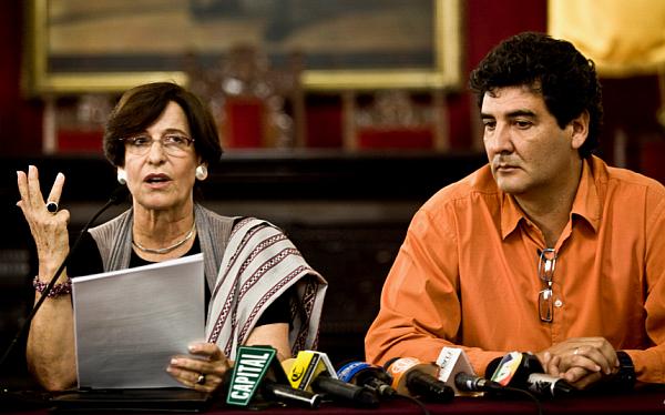Zegarra pidió al Congreso investigar financiamiento de campaña de revocación