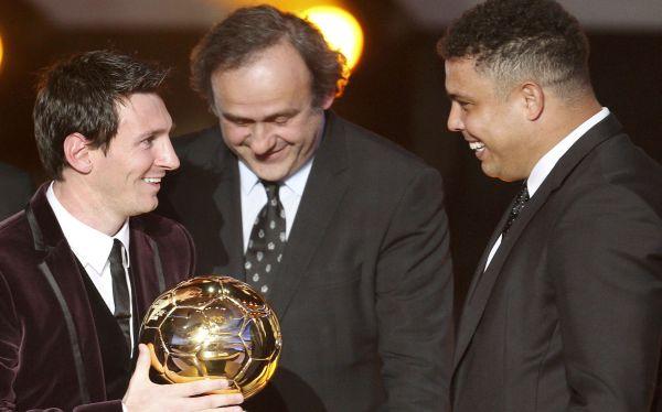 Ronaldo dice que votaría por Lionel Messi para el Balón de Oro