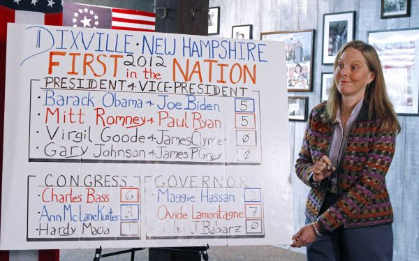 Elecciones en EE.UU.: hubo empate en la aldea de Dixville Notch, la primera en votar