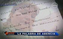 Caso Alicia Delgado: Abencia Meza confía en quedar libre de culpa el miércoles - Noticias de abencia meza