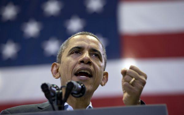 Obama le ganó a Romney en estados clave de Michigan y Pensilvania