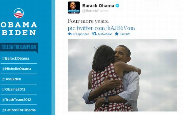 """Four more years"", la frase de Obama que se convirtió en 'trending topic'"