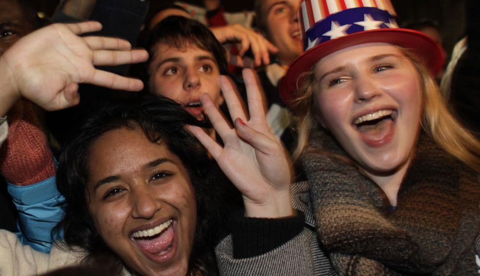FOTOS: así vivió Estados Unidos el triunfo y reelección de Barack Obama