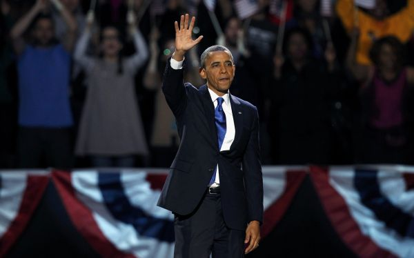 """Barack Obama celebra su reelección: """"Lo mejor está por venir"""""""