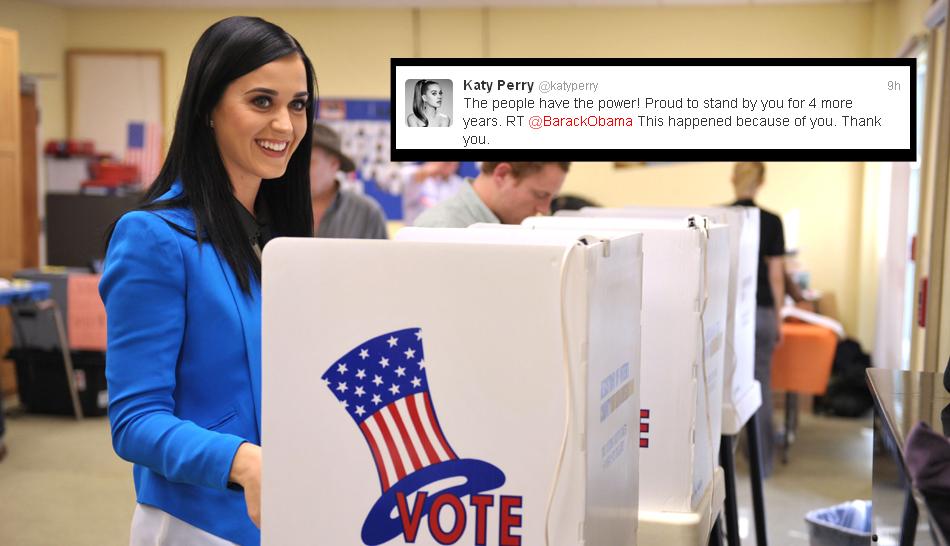 FOTOS: famosos celebraron la reelección de Barack Obama en Estados Unidos