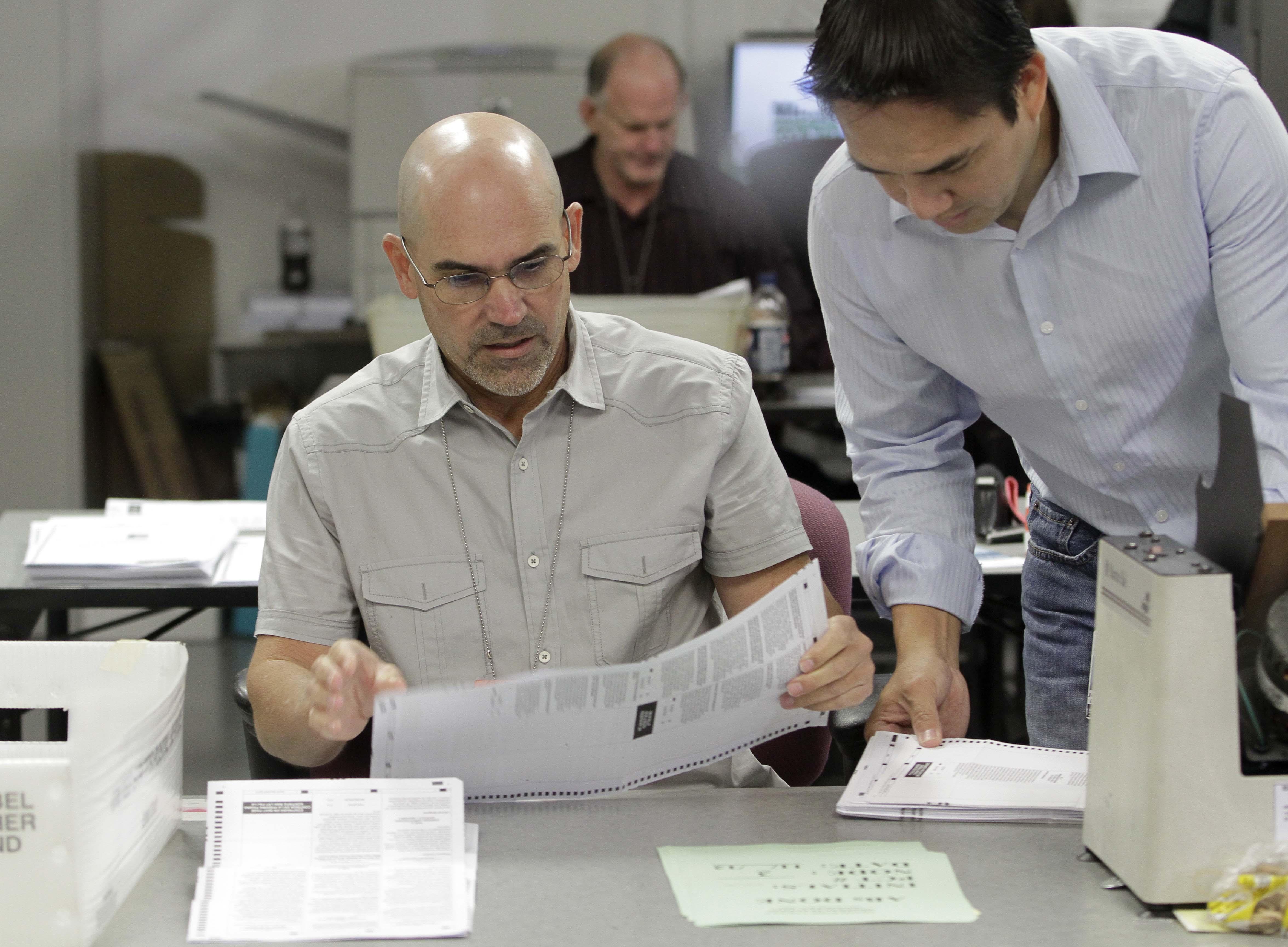 Elecciones en EE.UU: continúa el conteo de votos en el estado clave de Florida