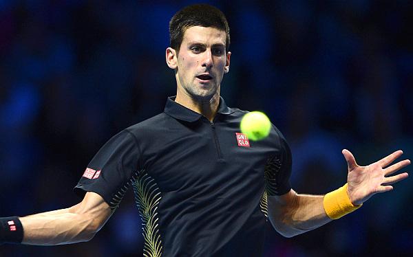 Novak Djokovic venció a Andy Murray en Masters de Londres