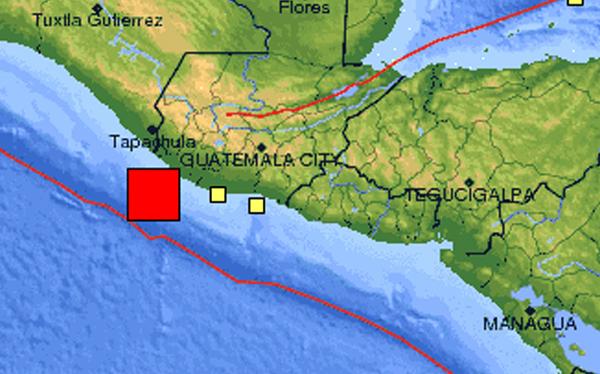 Terremoto en Guatemala: sismo de 7,4 grados sacudió las costas del país