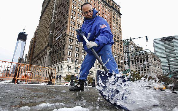 FOTOS: tormenta invernal azotó a las golpeadas Nueva York y Nueva Jersey