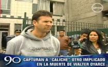 Cayó 'Caliche', el hincha implicado en la muerte de Walter Oyarce - Noticias de alejos dominguez