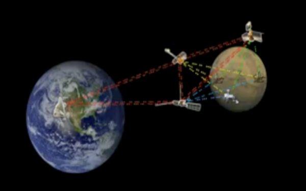 Astronauta usó Internet interplanetaria para controlar robot en la Tierra