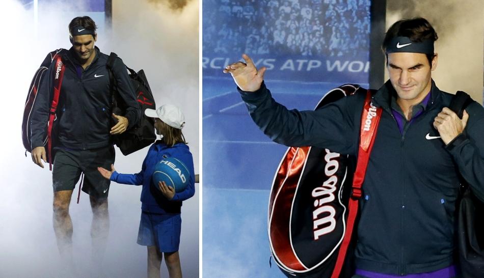 FOTOS: Del Potro, Federer, Djokovic y Murray, el esplendor de los semifinalistas del Masters de Londres