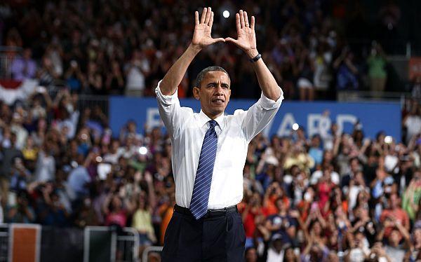 Barack Obama ganó en Florida y sumó 332 votos electorales