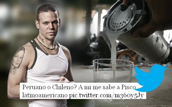 """Vocalista de Calle 13 causó polémica por decir que el pisco es """"latinoamericano"""""""