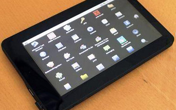 La tablet más barata del mundo cuesta 20 dólares