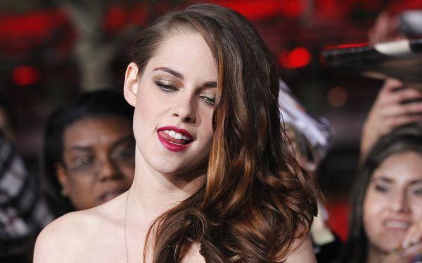 """Kristen Stewart y Robert Pattinson juntos en estreno de """"Amanecer 2"""""""