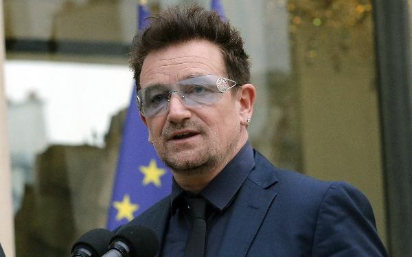 Bono se reunió con el vicepresidente de EE.UU. en la Casa Blanca