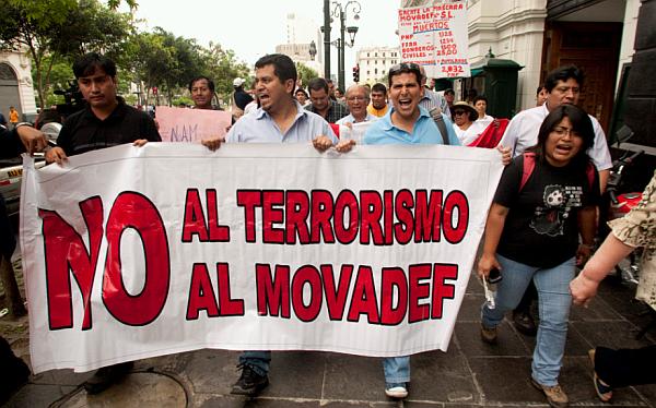 Bambarén exhortó a partidos políticos a sumarse a marcha contra Movadef