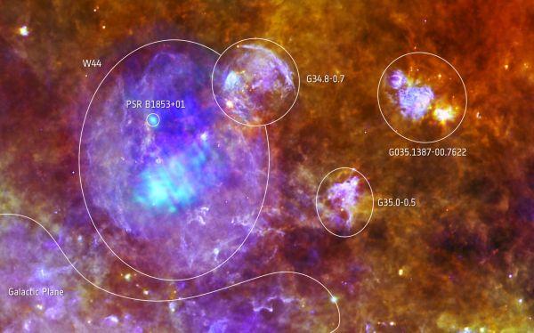 La ESA difunde imágenes de la muerte de una estrella a 10.000 años luz