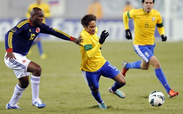 Brasil empató 1-1 con Colombia y Neymar se falló un penal increíble