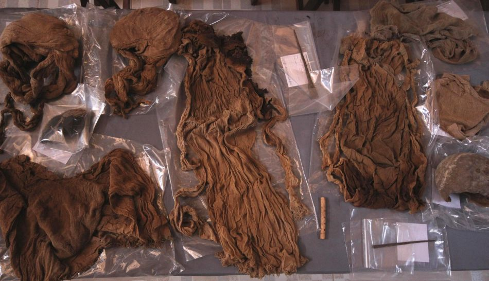 FOTOS: hallan tumbas de 2.000 años de antigüedad en Huanchaco