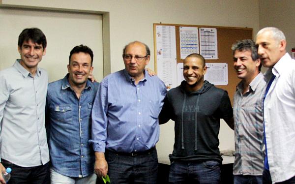 Roberto Carlos se reunió con Sergio Markarián en la Videna