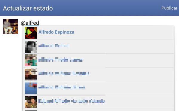 Facebook mejora en móviles: ahora permite etiquetar en posts y compartir