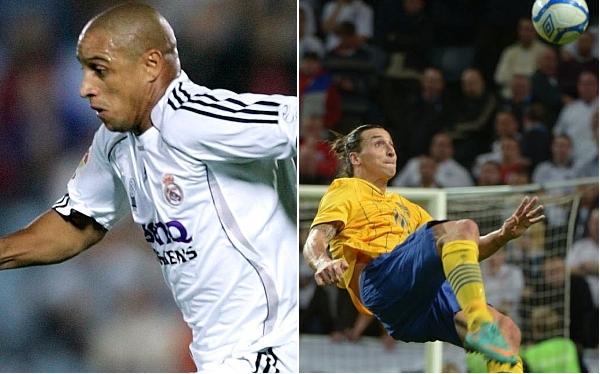 Roberto Carlos dijo que su golazo del 98 es mejor que el de Ibrahimovic