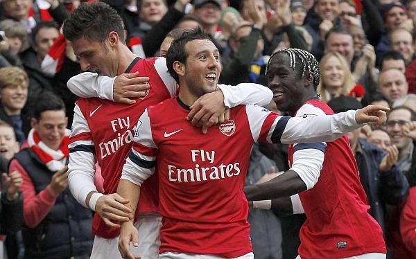 Arsenal goleó 5-2 al Tottenham y se recupera en la Premier League