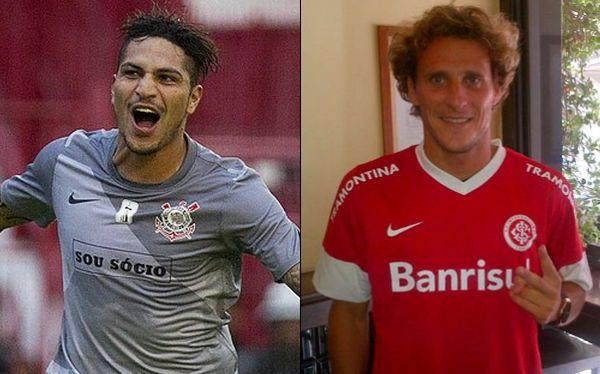 Guerrero y Forlán, las figuras en el duelo entre Corinthians y el Inter