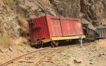 Dos muertos por descarrilamiento de locomotora en Matucana - Noticias de jose olaechea
