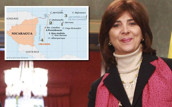 Canciller colombiana dice que se revisará fallo de La Haya pero no niega que se acate