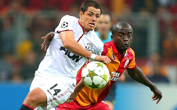 Manchester United cayó 1-0 ante el Galatasaray y le dio vida en Champions