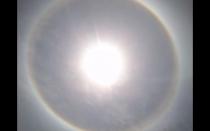 Halo solar sorprendió a arequipeños este mediodía - Noticias de modesto montoya