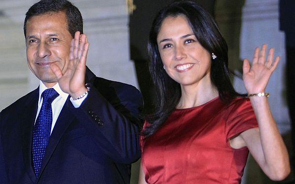 Ollanta Humala tiene 46,8% de aprobación y Nadine Heredia 68%, según sondeo de CPI