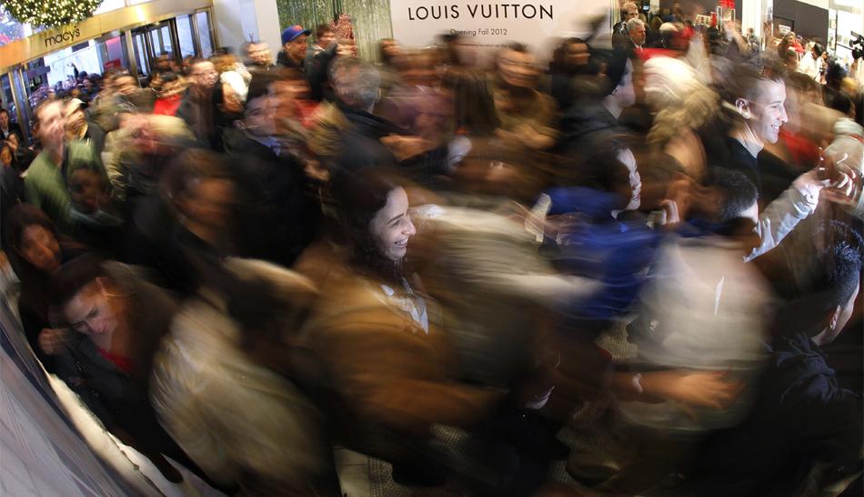 FOTOS: estadounidenses se volcaron a las tiendas por ofertas del 'Black Friday'