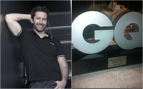"""Marco Zunino fue elegido como el """"Mejor Actor del 2012"""" por la revista """"GQ"""""""