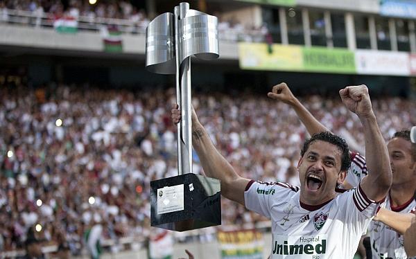 Fred fue elegido el mejor jugador del Brasileirao