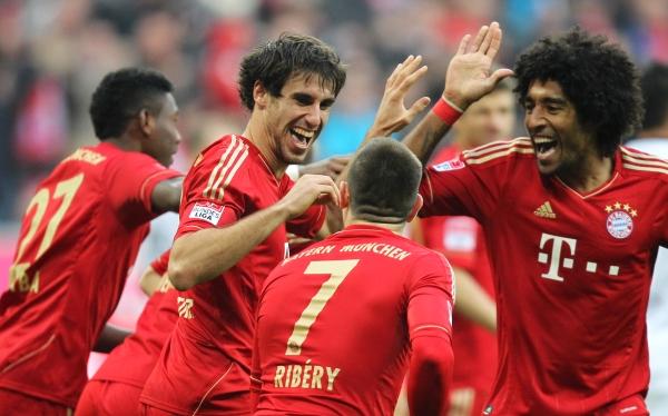 Bayern Múnich derrotó 5-0 al Hannover y se consolida como líder