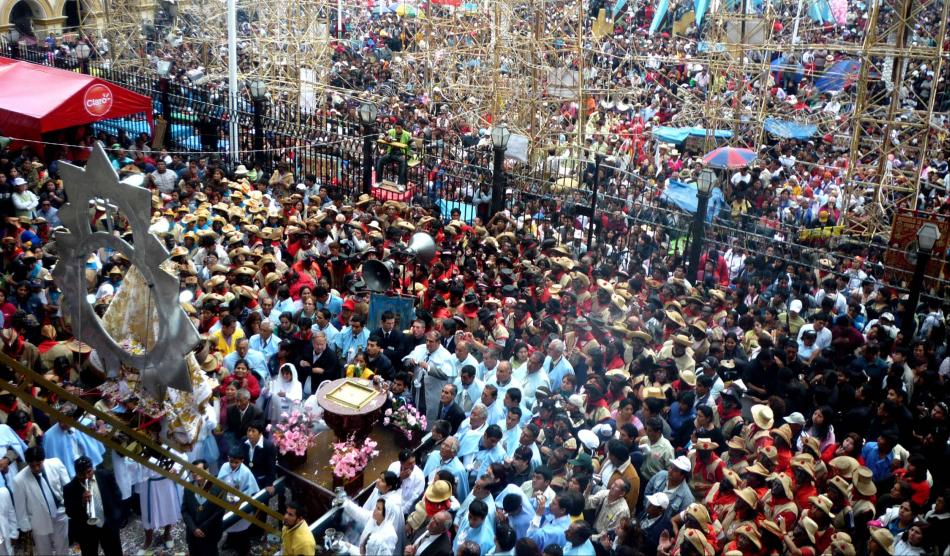FOTOS: la fiesta de la Virgen de la Puerta, una muestra de fe en Otuzco