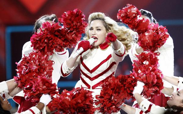Madonna rechazó profecía maya del fin del mundo durante concierto en México
